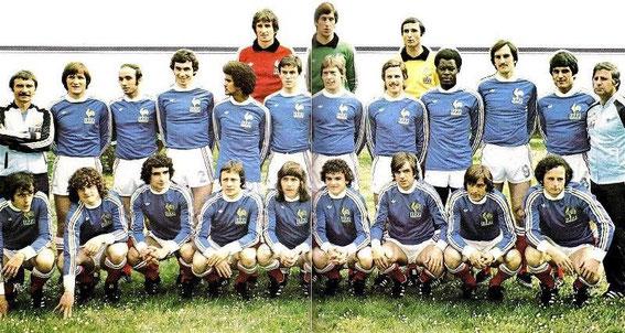 Papi claude corse football - Equipe de france 1982 coupe du monde ...