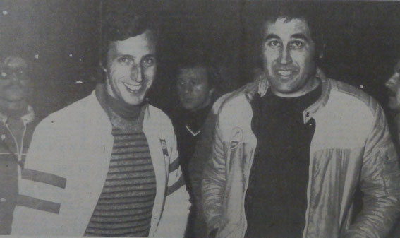 Francis SERPAGGI et Jean Pierre MANZAGOL