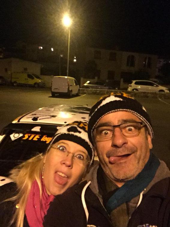 Avec Gérard NICOLI avec qui Marie Flore forme l'équipage de la Vachette