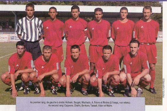 Les débuts à Besançon (Saison 2003/2004)