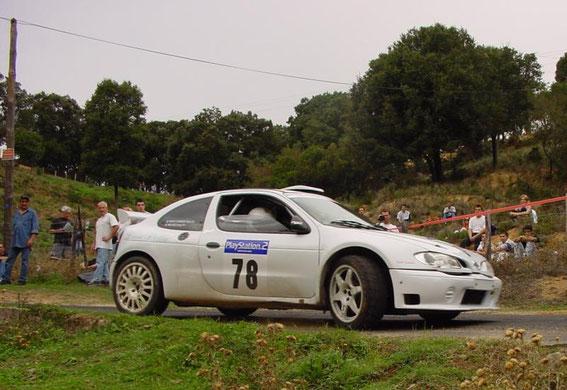 Tour de Corse 2001 avec José Micheli