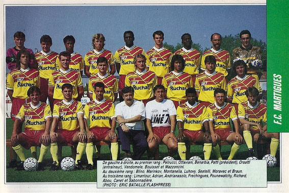 MARTIGUES 91/92