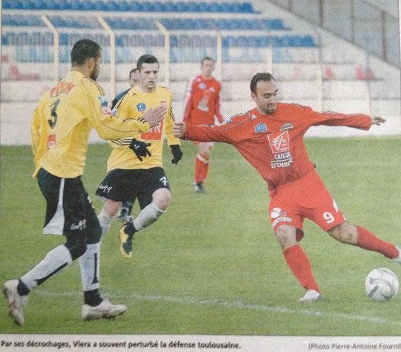 Le GFCA en Coupe face à VICHY