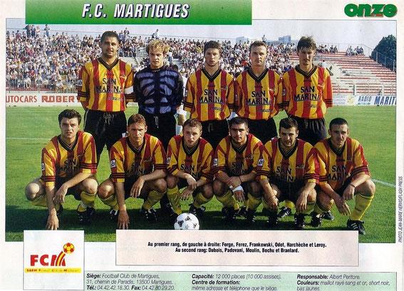 MARTIGUES 97/98