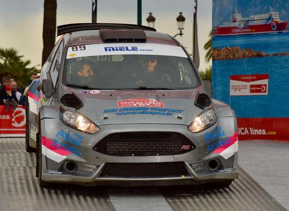 Tour de Corse 2018 avec Kathia Renucci
