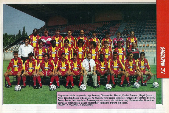 MARTIGUES 92/93
