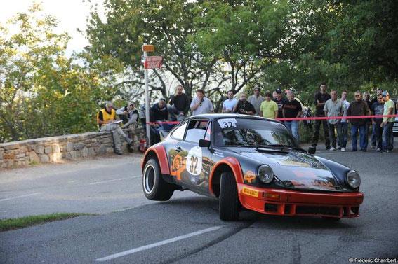 Le Tour de Corse Historique 2012 avec papa (François LEANDRI)
