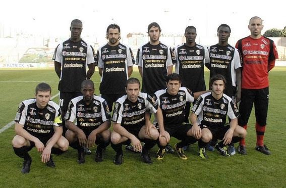 Saison 2010/2011 avec le CAB . Photo : Philippe Le Brech