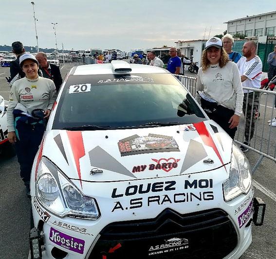 Rallye de la Croisette 2019 avec Allison Viano .
