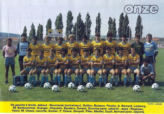 GUEUGNON 84-85