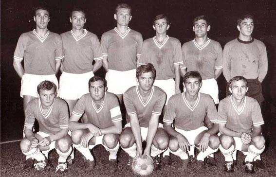 Saison 67/68. Sa première saison sous les couleurs du Sporting