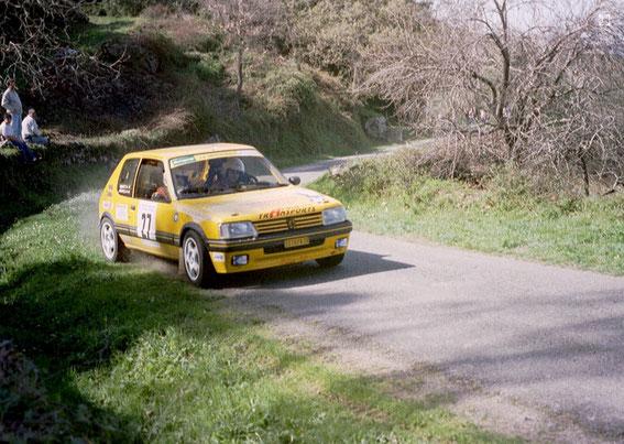 Giraglia 2001 avec la 205 GTI