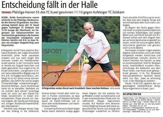 Quelle: Verlag: DIE RHEINPFALZ Publikation: Westricher Rundschau Ausgabe: Nr.108 Datum: Samstag, den 11. Mai 2013 Seite: Nr.14