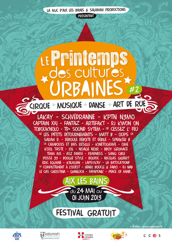 printemps des cultures urbaines 2013