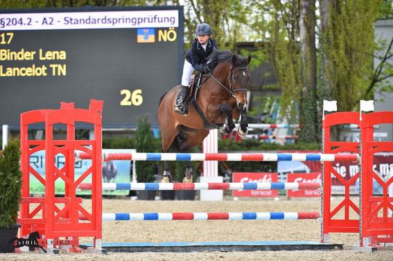 Lena Binder und Lancelot TN © sIBIL sLEJKO