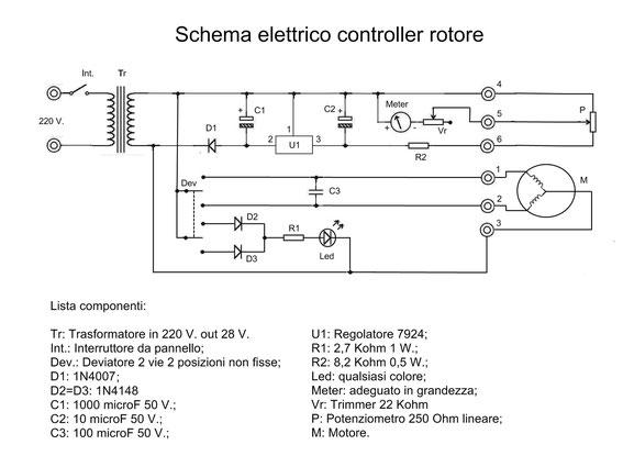 Schema Elettrico Potenziometro : Modifica rotore tv by iz wki benvenuti su officinahf