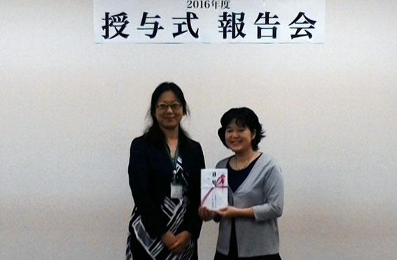 佐々木理事長(パルシステム千葉)と外京さん