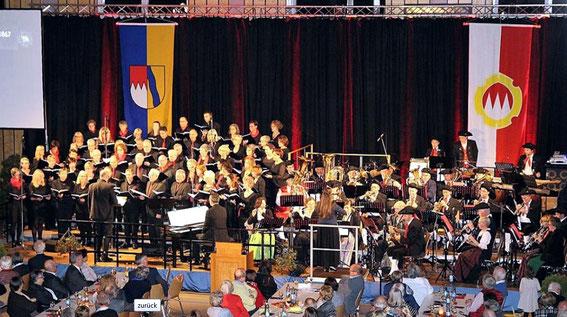 Volkach - Jubiläumskonzert zum 150-jährigen - Mainschleifenhalle -11-11-17