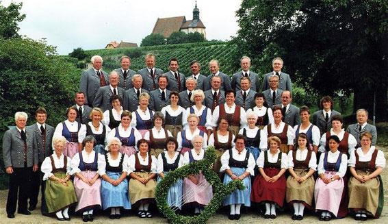 Gemischter  Chor - 1997  Vorsitzender: Richard Stößel, Chorleiter: Armin Stawitzki