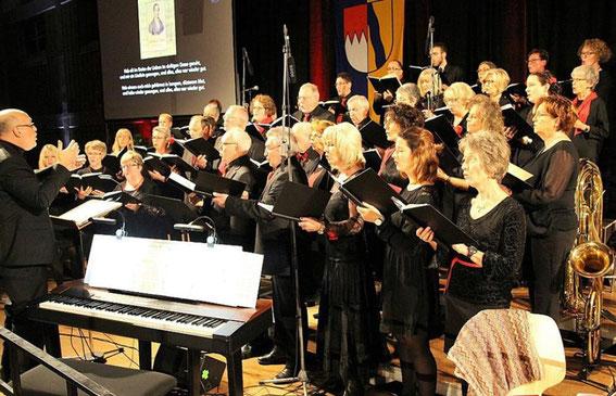 Jubiläumskonzert zum 150-jährigen - Mainschleifenhalle - 11.11.17 - Leitung: Manfred Weidl