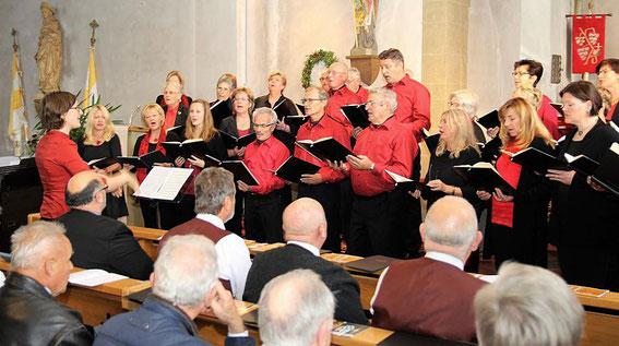 beim Geistlichen Konzert der Sängergruppe - 22. Oktober 2017 - Leitung: Karin Sindern