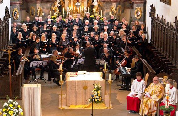Jubiläumschor - MV Volkach -  Mozartmesse - Leitung: Manfred Weidl - 7. Mai 2017