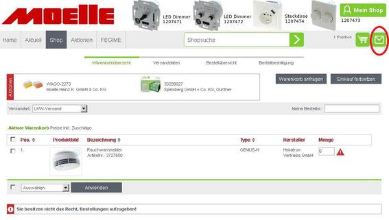 Elektroinstallationsmaterial Online Shop