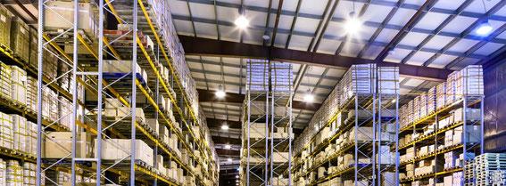 Beleuchtung Halle mit LED Hallenstrahler