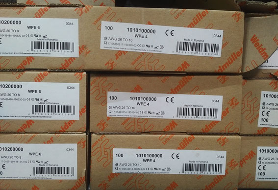 Weidmüller Distributoren Deutschland