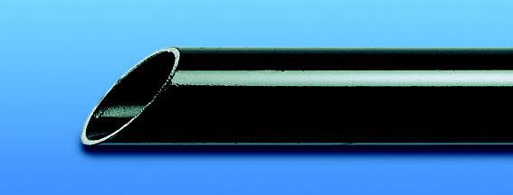 Stahlpanzerrohr schwarz starr