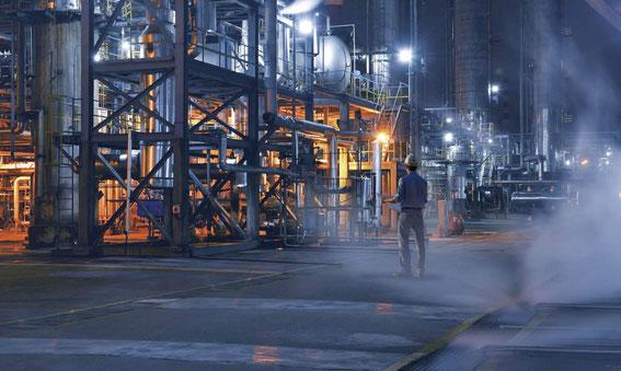 Stahl explosionsgeschützte Leuchten Ex LED Explosionsschutz