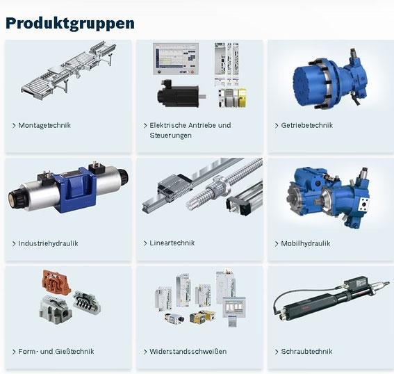 Bosch Rexroth Produkte