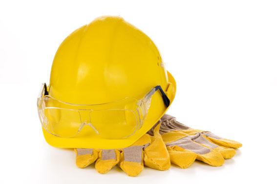 Arbeitsschutz: Schutzbrillen, Schutzhandschuhe vom Großhandel