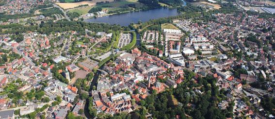 Stadt Nordhorn Luftaufnahme