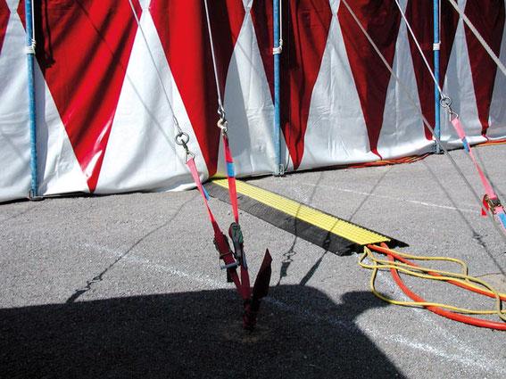 Kabelbrücken für Veranstaltungen Events
