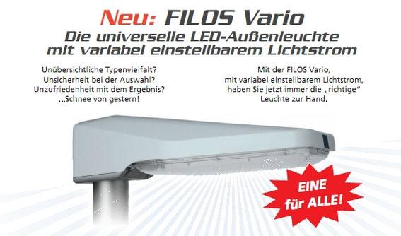 Schuch FILOS Vario LED Außenleuchte