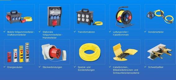 Elspro Produkte Strom