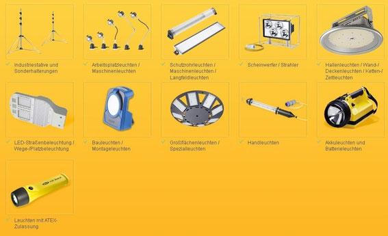 Elspro Produkte Licht
