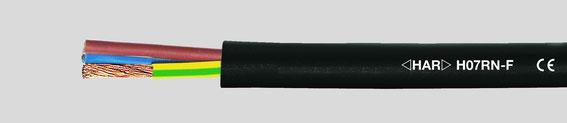 H07RN-F Gummileitung