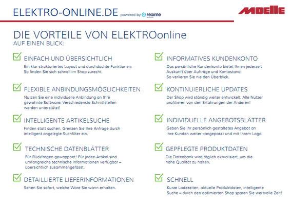 Elektro Online Shop Infos