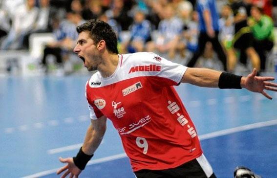 Elektrogrosshandel Moelle Sportsponsoring Handball HSG Nordhorn-Lingen