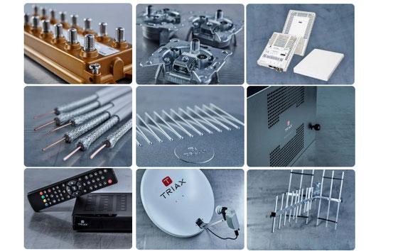Triax Produkte von Distributor Moelle