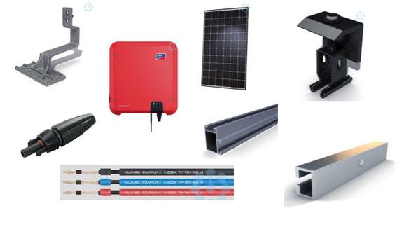 Photovoltaikanlage Komplettanlage
