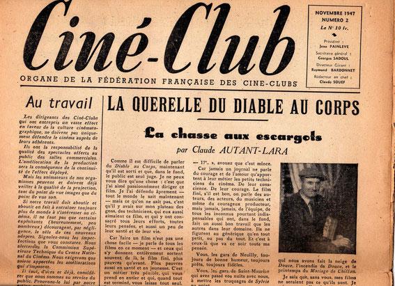 un extrait du journal de la F.F.C.C