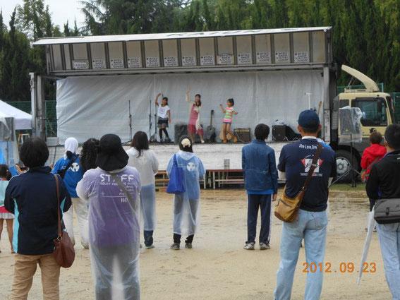 ステージで音楽 2012貝塚
