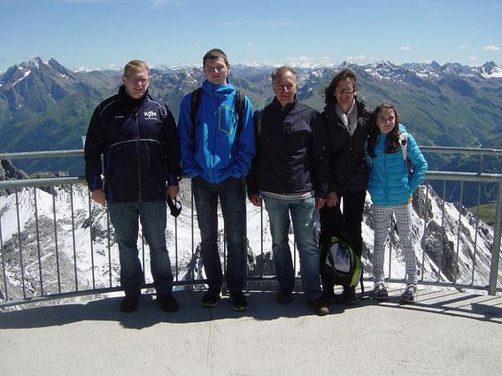 auf dem Valuga 2809m , St. Anton am Arlberg