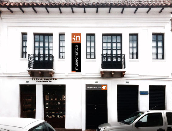 Edificio MUSEOMATICO / In Arte Contemporáneo - sede extensión