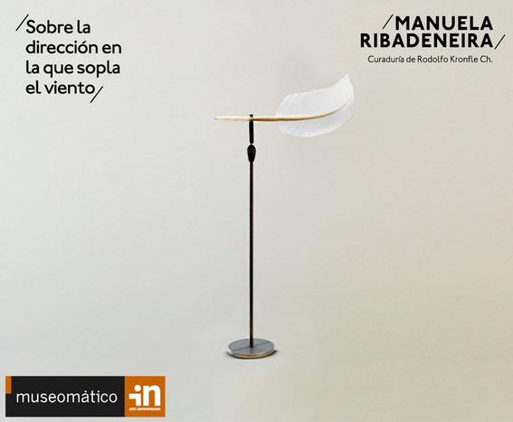 Manuela Ribadeneira el 22 de noviembre del 2018 en el Museomático