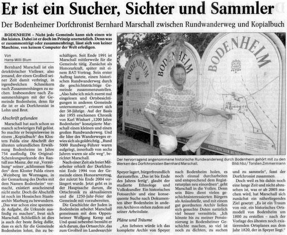Historischer Rundweg Bodenheim