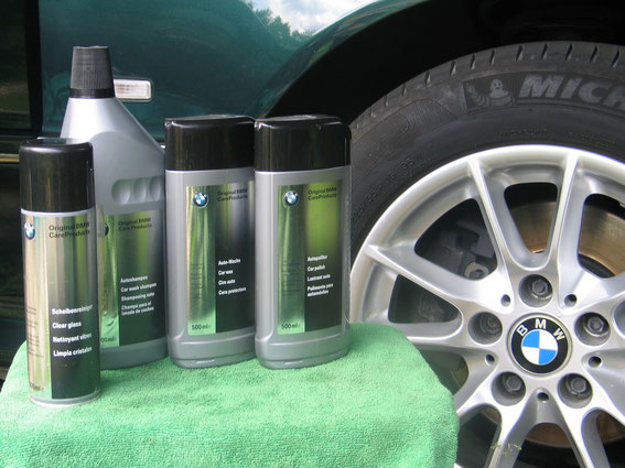 BMW car care products